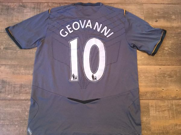 2008 2009 Hull City Geovanni Adults Large Away Football Shirt Top